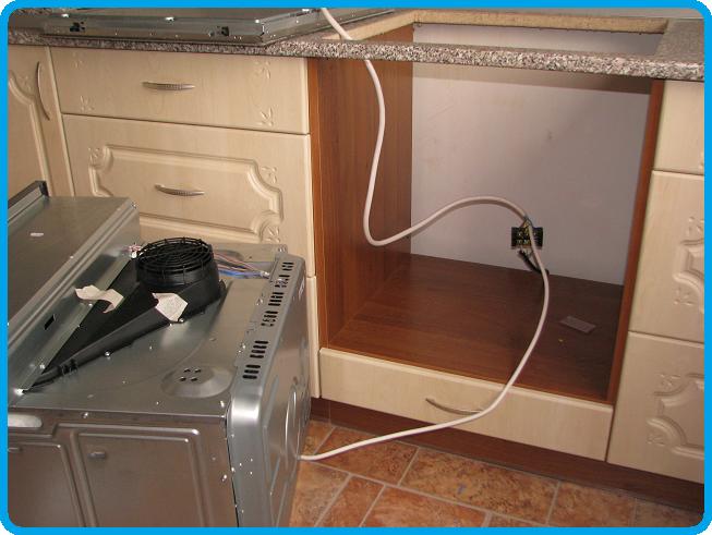 Подключение духового шкафа к электросети своими руками