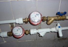 Установка счетчиков воды в своими руками